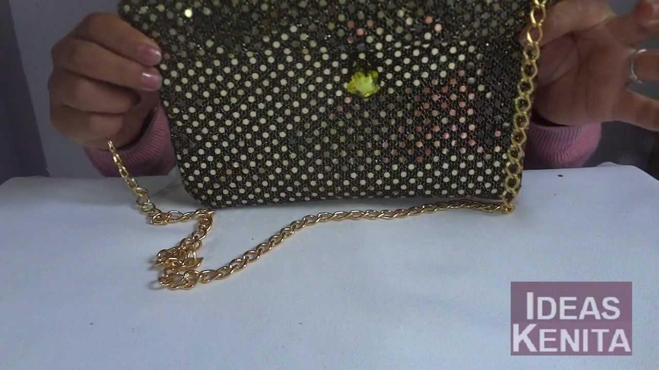 S per idea para hacer un bolso de mano youtube - Bolsos para hacer ...