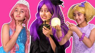 Malice's Treehouse Prank On Princesses Olivia and Esme 💍 Princesses In Real Life | Kiddyzuzaa