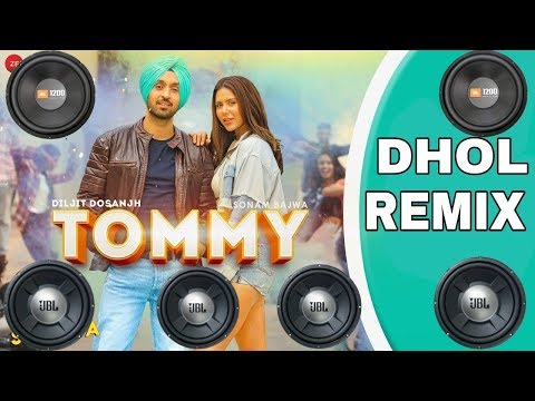 TOMMY||Dhol Remix||Diljit Dosanjh||Raj Ranjodh||Aman Kuddu DJ Remix Production||Latest Punjabi Song