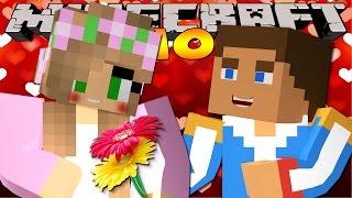 Minecraft School : LITTLE KELLY KISSES A PRINCE!?