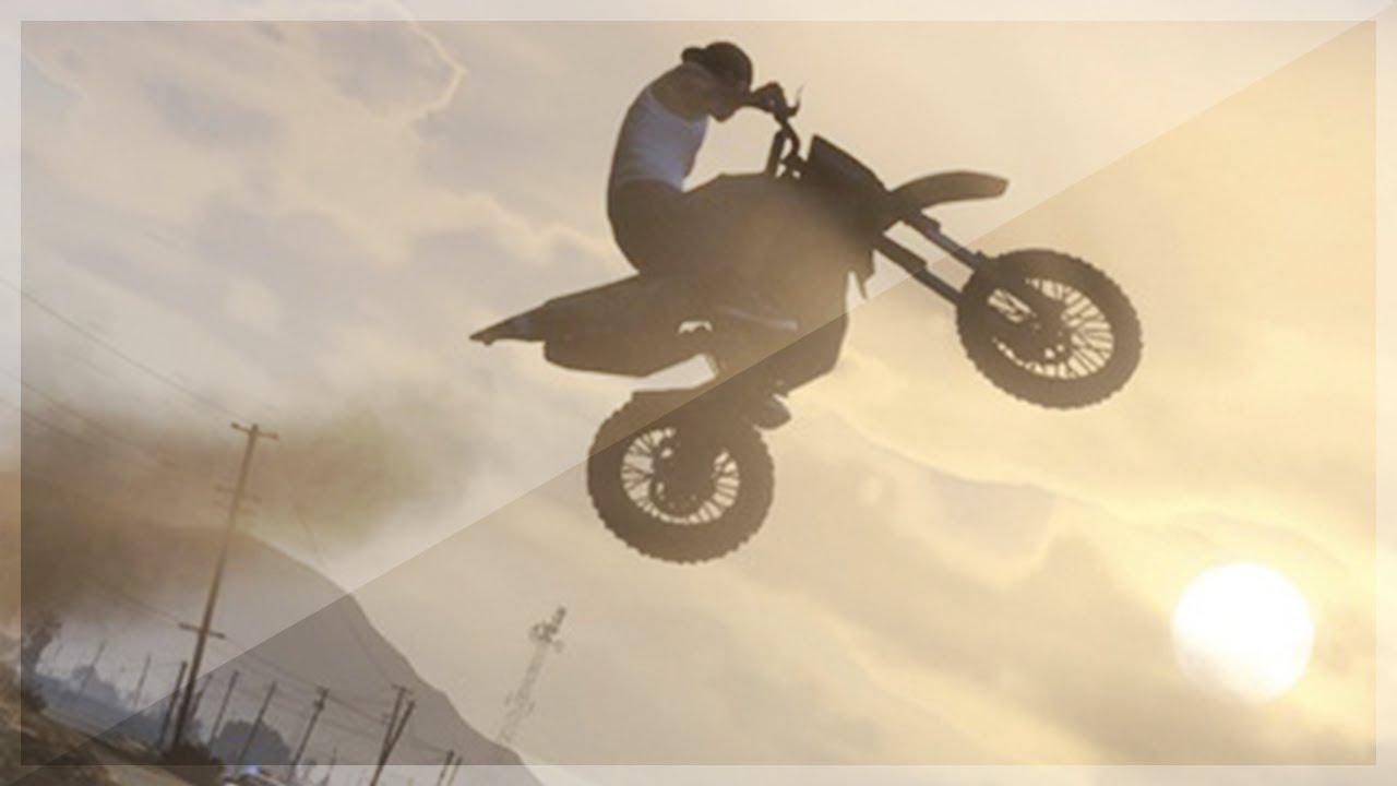 Bike Tricks Gta 5 Epic GTA Motorbike Stunt
