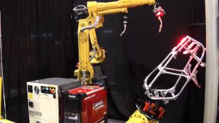New FANUC R-30iB Controller in Next Generation Robotic Welding Cell -- FANUC Robotics