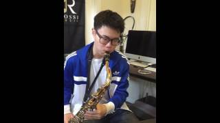 Jazz Sax Lessons - Student after only 4 lessons- No prior knowledge of Improvisation