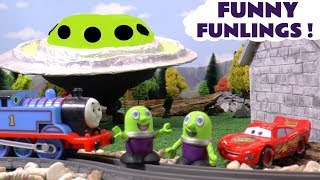 Funny Funlings Fun Toy Stories for Kids with Cars McQueen and Thomas The Tank Engine TT4U