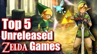 Top 5 Unreleased or Cancelled Zelda Games