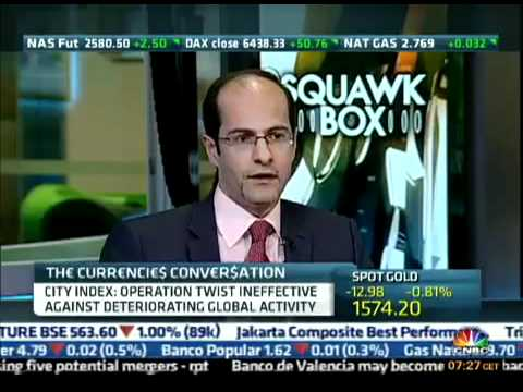 Ashraf Laidi Cohosting on CNBC Squawk Box - July 11, 2012 Chart