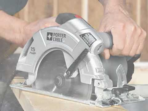 Porter-Cable PC15CSLK Circular Saw Review