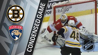 04/05/18 Condensed Game: Bruins @ Panthers