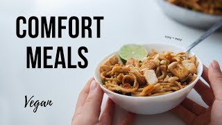 Comforting Vegan Meals to make this Week!