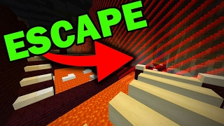 ESCAPING FROM THE BORDER (Minecraft Custom Parkour Map)