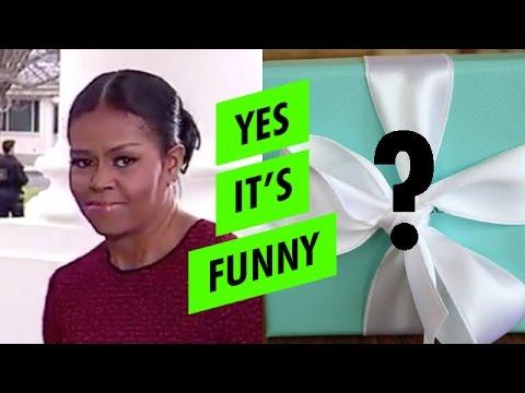 REVEALED: Melania Trump's gift to Michelle Obama