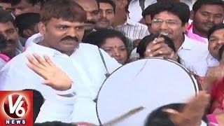 GHMC Mayor Bonthu Rammohan Participates In Winning Celebrations At TRS Bhavan  - netivaarthalu.com
