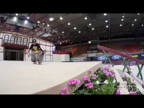 Quick Clip with Mikey Taylor and Paul Rodriguez from Street League at X Games Munich 2013