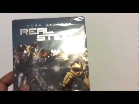 REAL STEEL BLURAY STEELBOOK  NETHERLANDS