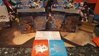 Pokemon Evolutions Booster Box Battle part 1! EPIC CARD PULLS!!!