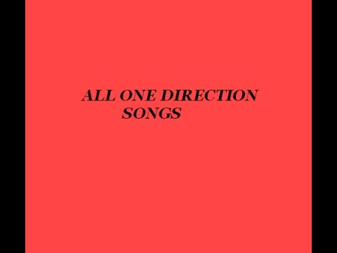 ALL ONE DIRECTION LYRICS UP TO DATE MARCH 2015