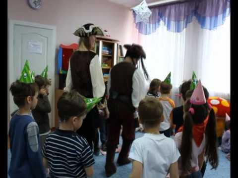 пираты аниматоры на детском празднике.avi