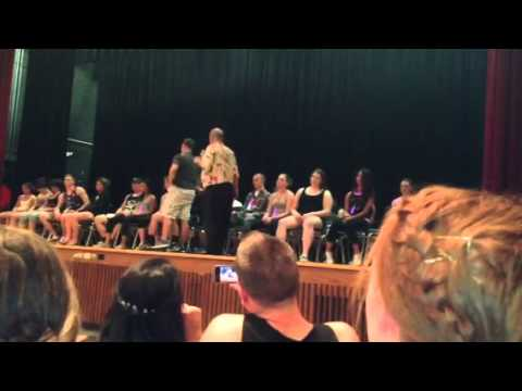 Lynnfield High School Post Prom 2013 Hypnotist Show