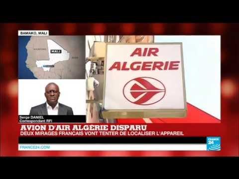 Avion d'Air Algérie : l'appareil aurait disparu au Nord du Mali