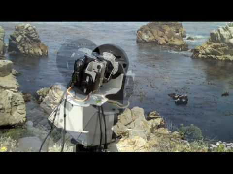 GigaPan in Action at Point Lobos