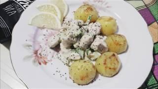 Картофель с курицей и огурцами | Готовим быстро и вкусно | Как приготовить куриный салат