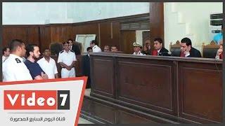 براءة نجل الإخوانى محمد البلتاجى وتأييد حبس زوجته6أشهر لتغيبها عن الجلسة