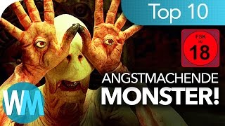 Top 10 ANGSTMACHENDE Monster ✓