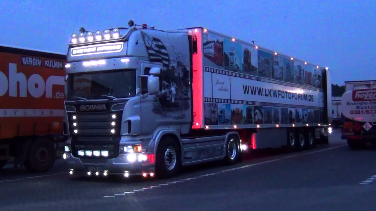 bretagne express lkw fotoforum scania r v8 youtube. Black Bedroom Furniture Sets. Home Design Ideas