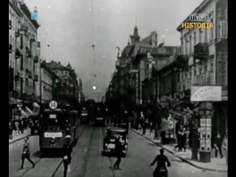 Przedwojenna Filmowa Warszawa 1936 - Najciekawsze Ujęcia Z Warszawskiego Śródmieścia