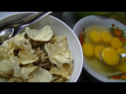 Jakarta Street Food 675 The Legend Cikini Porridge with Raw Eggs Bubur Cikini BR TiVi 5211