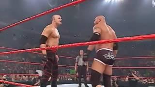 wwe most dangerous match Demon kane vs Gold Berg