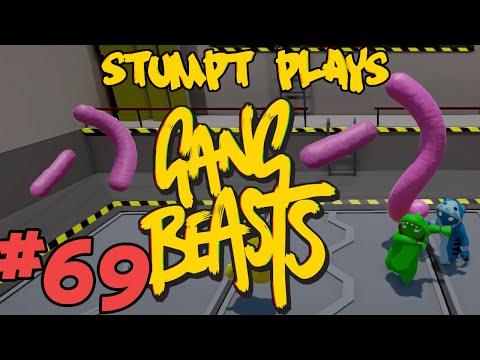 Stumpt Plays - Gang Beasts - #69 - Hot Dodgers