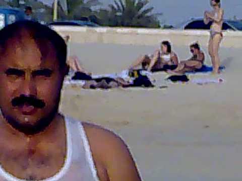 Kohat Grand Masti At Dubai Beach video