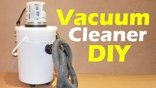 DIY How to Make a Vacuum Cleaner STEP by STEP full tutorial