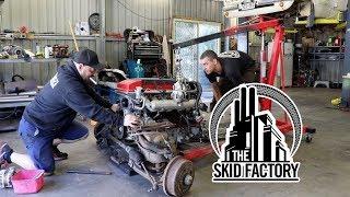THE SKID FACTORY - Barra Powered Bedford Van [EP2]