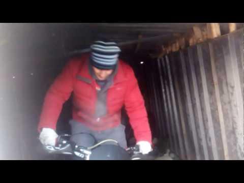 Мороз  -17 заводим мотоцикл stels LD 450  http://masterovv.ru