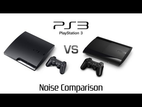 PlayStation 3 Slim vs PlayStation 3 Super Slim - Noise Comparison