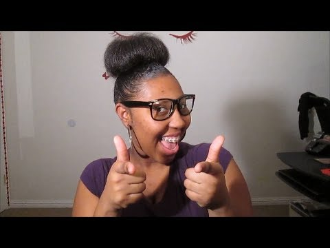 My Daughters High Bun Quot Tutorial Quot No Sock No Added Hair