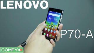 Lenovo P70-A - мощный смартфон с емкой батареей - Обзор от Comfy