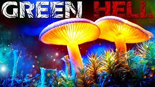 Green Hell - Deadly Dangerous Plants & Fungi - Fire Shelter Complete - Green Hell Survival Gameplay