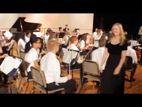 2014 Osbourn Park High School String Orchestra performing Stand By Me