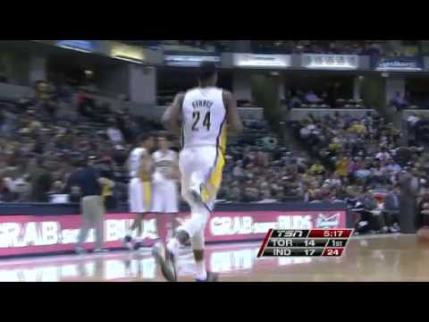 Toronto Raptors vs. Indiana Pacers First Half Highlights 13 November 2012