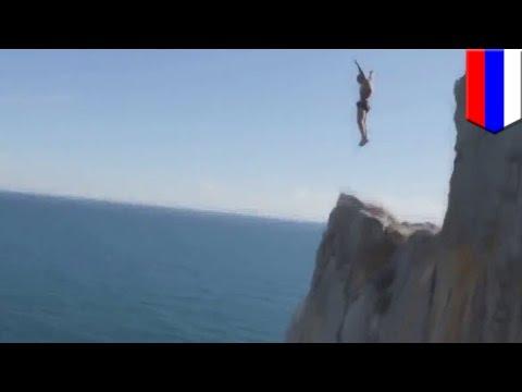 Россиянин погиб, прыгнув с 50-метрового утёса