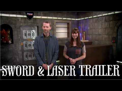 Veronica Belmont & Tom Merritt's Sword And Laser Trailer (Sci-fi/Fantasy Book Club & More)!