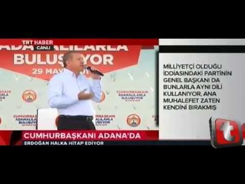Cumhurbaşkanı Erdoğan'dan Kılıçdaroğlu'na Siz Tavuk musunuz?