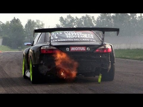 1JZ Nissan Silvia S15 Amazing Turbo Sound