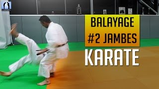 Karate - Balayage des 2 jambes - Ashi Barai