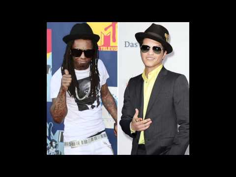 Lil Wayne Ft Bruno Mars - Mirror On The Wall Instrumental (with Hoook chorus) video