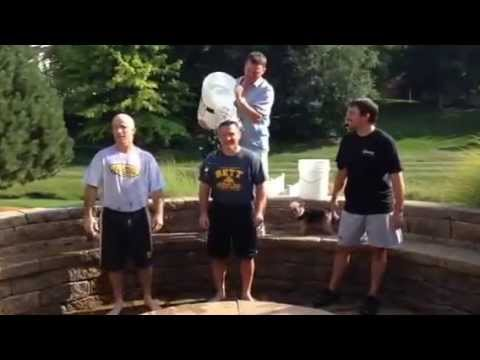 Bettendorf high school wrestling coaches doing that ALS ice