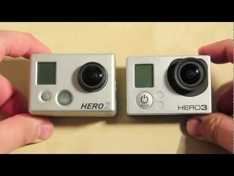 Vergleich: GoPro HD Hero 3 Black Edition mit der GoPro HD Hero 2